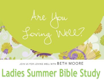 Ladies Summer Bible Study