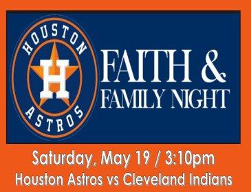 Houston Astros Faith & Family Night