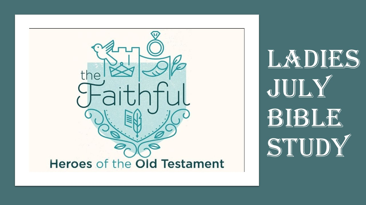 ORBC Ladies Summer Bible Study
