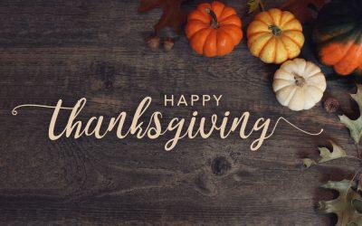 Happy Thanksgiving from Oak Ridge Baptist Church!